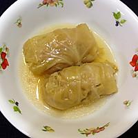 圆白菜包肉卷