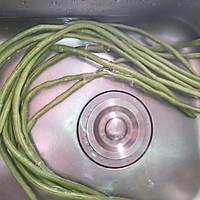 长豆角酿肉的做法图解7