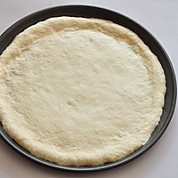 COUSS特约食谱——金枪鱼培根披萨的做法图解3