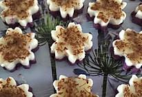 紫薯山药桂花糕的做法
