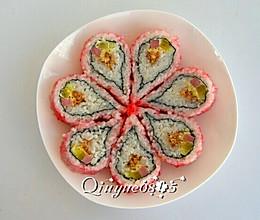 翻转樱花寿司的做法