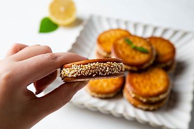 外脆里嫩的南瓜饼