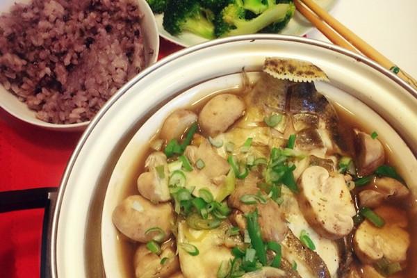 口蘑清蒸桂鱼的做法
