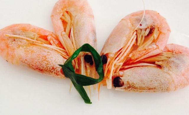 葱香北极虾