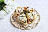 #爱好组-高筋#菠菜南瓜丹波奶酪面包的做法