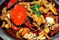 螃蟹鸡爪煲的做法