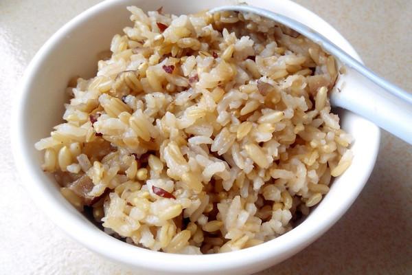 红枣燕麦饭的做法