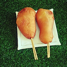 鸡腿面包豪华版