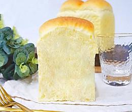 普通面粉也能做面包·低糖吐司#憋在家里吃什么#的做法