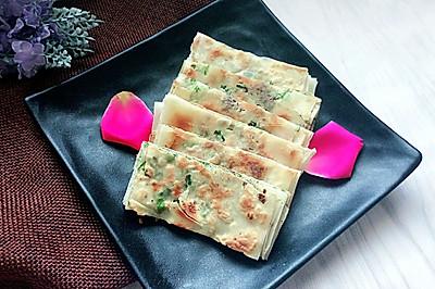迷你葱油饼(馄饨皮版)