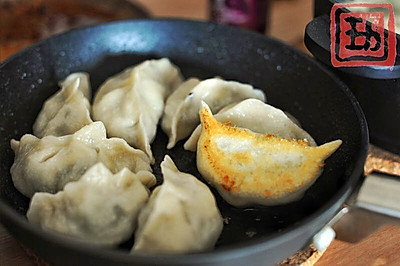 素三鲜煎饺#宴客拿手菜#