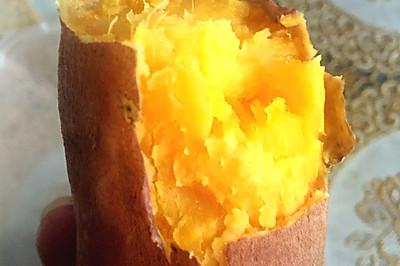 微波炉烤红薯,土豪版