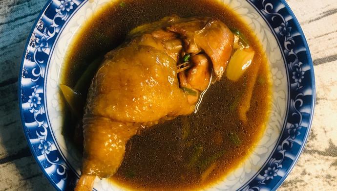 #花10分钟,做一道菜!#大鸡腿