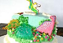 侏罗纪恐龙生日蛋糕的做法