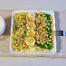 黎麦秋葵沙粒 一盘搞定一餐