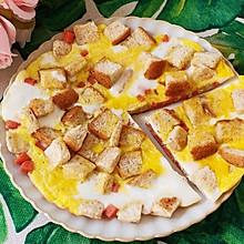 #夏日消暑,非它莫属#吐司鸡蛋披萨
