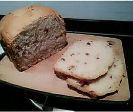 蔓越莓面包#莓味佳肴#的做法