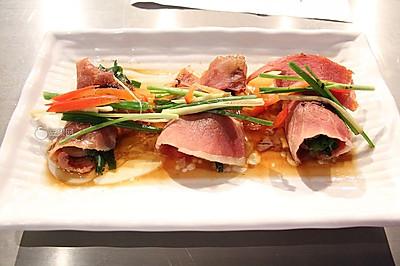 火腿羊腰卷—《顶级厨师》参赛作品