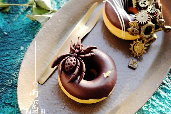 齿轮风甜甜圈的做法