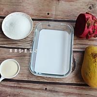 #花10分钟,做一道菜!#芒果布丁的做法图解1