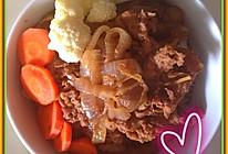 牛丼(牛肉盖饭)的做法