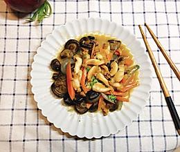 香菇炒鲍鱼的做法