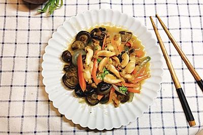 香菇炒鲍鱼