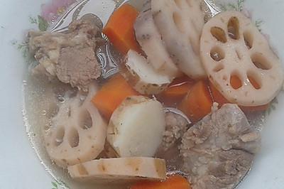 5分钟制作排骨汤