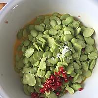 蚕豆米炒蛋的做法图解3