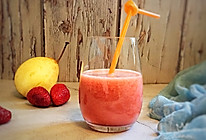 #春季减肥,边吃边瘦#小草莓爱上梨的做法