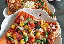 微波炉吐司披萨(五分钟快餐)的做法