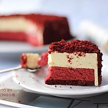 红丝绒双层芝士蛋糕#松下多面美味#