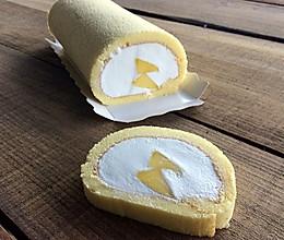 芒果蛋糕卷--很美的O形的做法