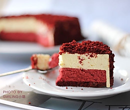 红丝绒双层芝士蛋糕#松下多面美味#的做法