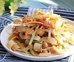 #换着花样吃早餐#葱油豆腐皮的做法