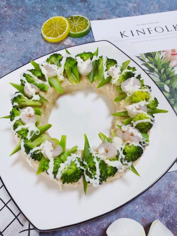 #520,美食撩动TA的心!#花环沙拉的做法