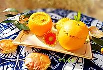 #《风味人间 》美食复刻大挑战#蟹酿橙的做法