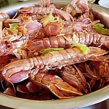 皮皮虾来了 清蒸皮皮虾 还有剥出完整虾肉小窍门