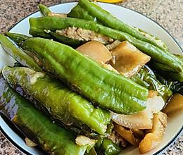 #舌尖上的端午#辣椒酿肉的做法