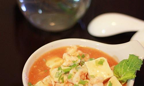 冬日里的温暖--虾油豆腐的做法