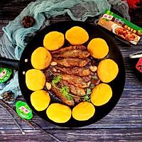 铁锅炖黄鱼贴饼子#新年新招乐过年#的做法图解16