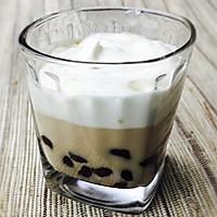 奶盖珍珠奶茶-完全自制的做法图解9
