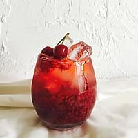 蔓越莓樱桃香草苏打