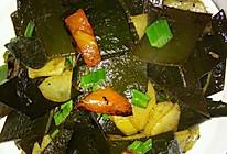 土豆烧海带的做法