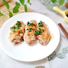 12M+宝宝版清蒸鸡翅:宝宝辅食营养食谱菜谱