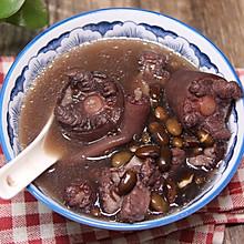 补肾黑豆猪尾汤