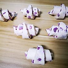 不一样的紫薯馒头