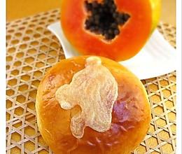 木瓜奶酪面包的做法