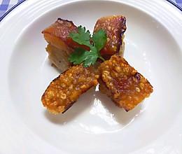 酥脆鲜香--黄金脆皮烧肉的做法