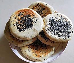 #人人能开小吃店#简单又好吃的五香锅盔小饼的做法